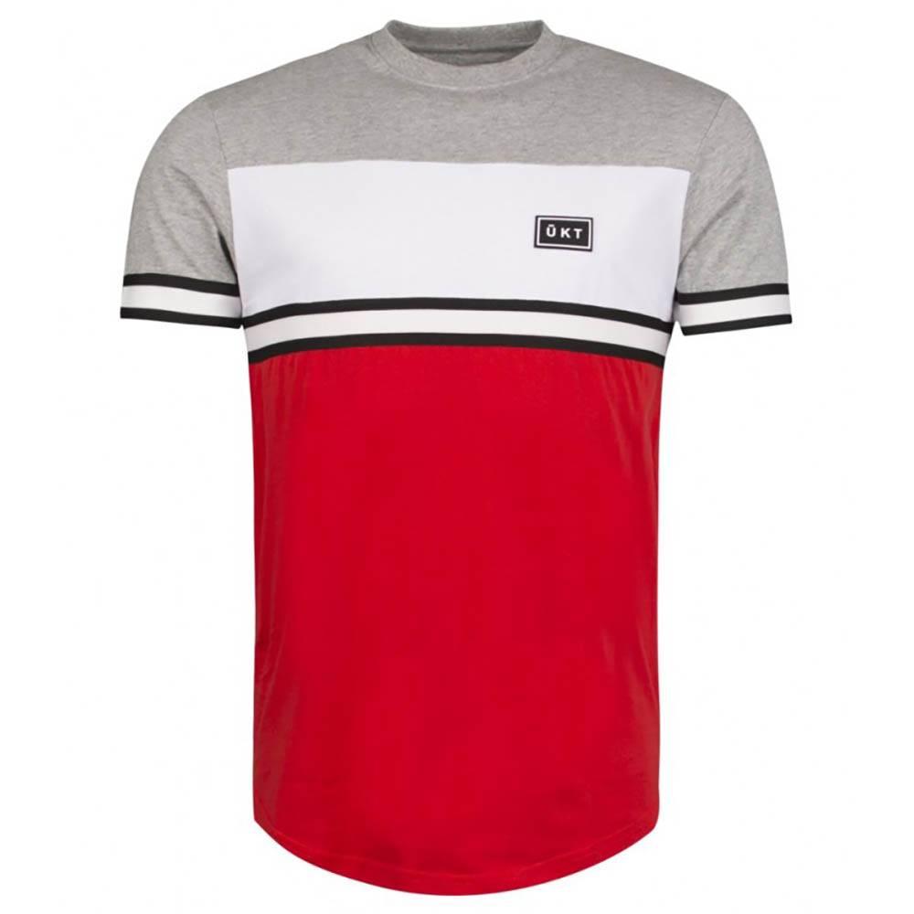 T-shirt Unkut Bridge Gris / Rouge