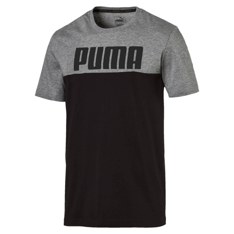 Shirt Gris Puma T Rebel Block Noir PdaxwZq