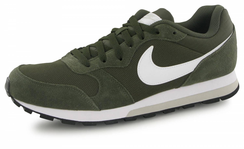 Desprecio limpiador Compadecerse  Nike Md Runner 2 Kaki / Blanc