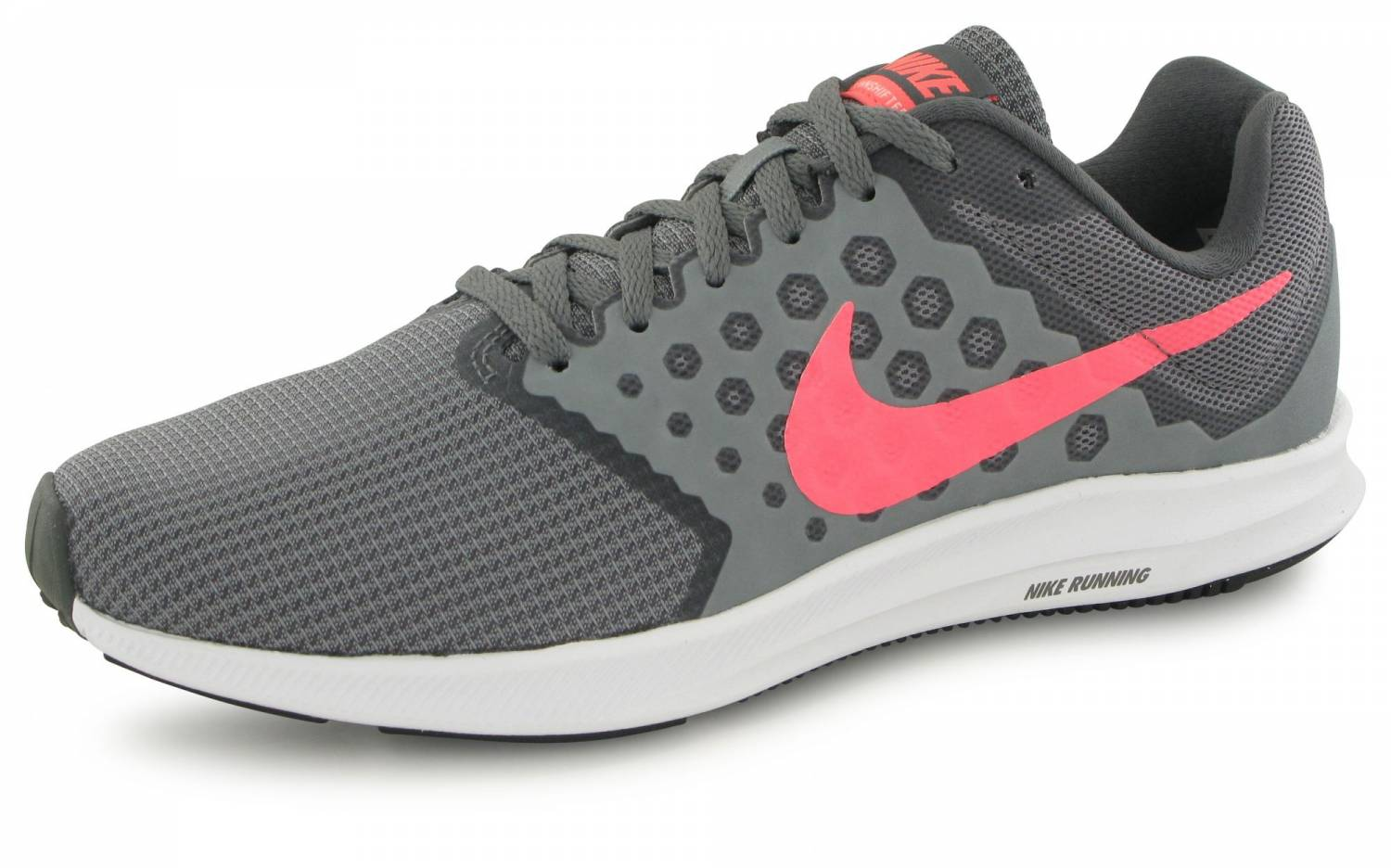 new concept f7e44 28929 Nike Downshifter 7 Gris   Rose