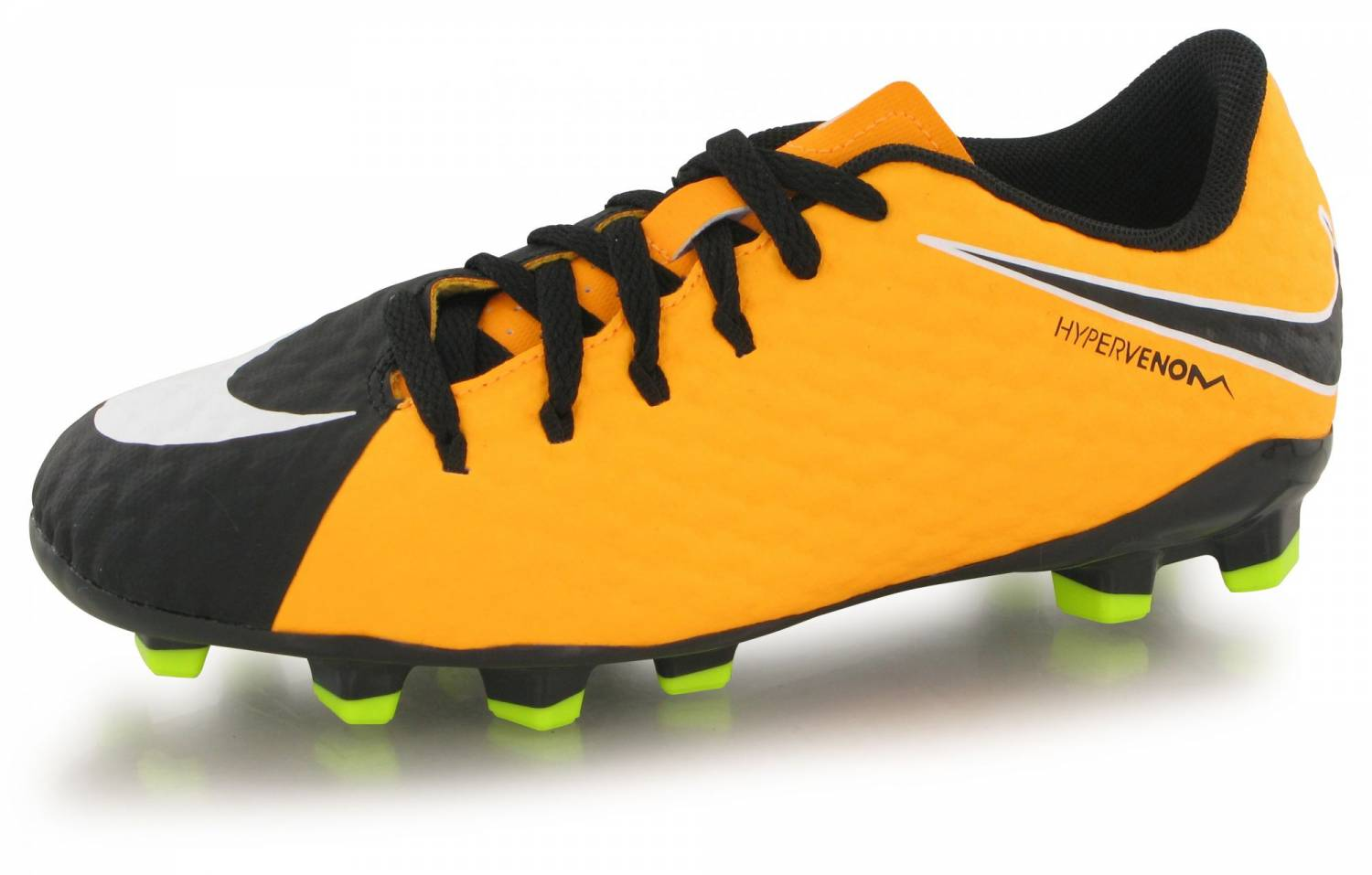 Nike Hypervenom Phelon Iii Fg Junior Orange Laser Noir