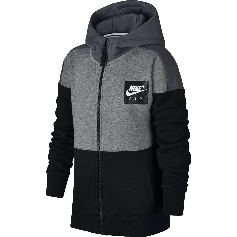 info pour 97a49 902a1 Veste Nike Air Hoodie Gris / Noir