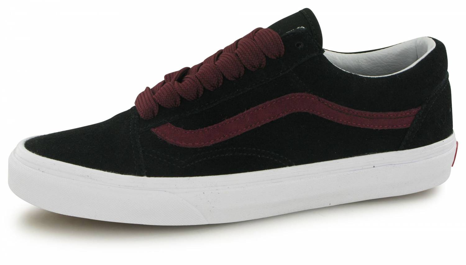 Vans Old Skool Oversize Lace Noir Bordeaux