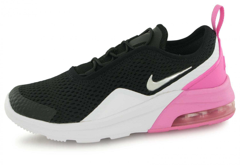 267dfc5a306 Nike Air Max Motion Noir   Blanc   Rose Junior