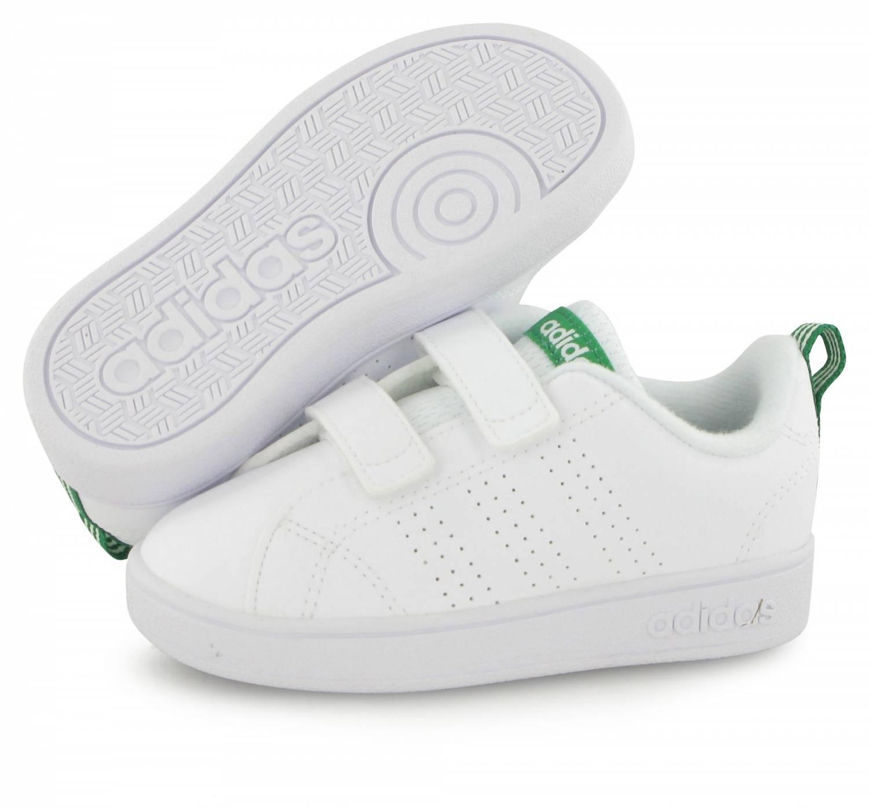 Adidas Neo Advantage Vs Bebe Blanc Et Vert