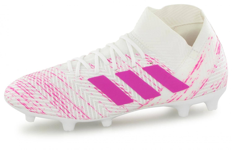 Adidas Blanc Nemeziz Fg 3 18 Rose qpVSUGzM