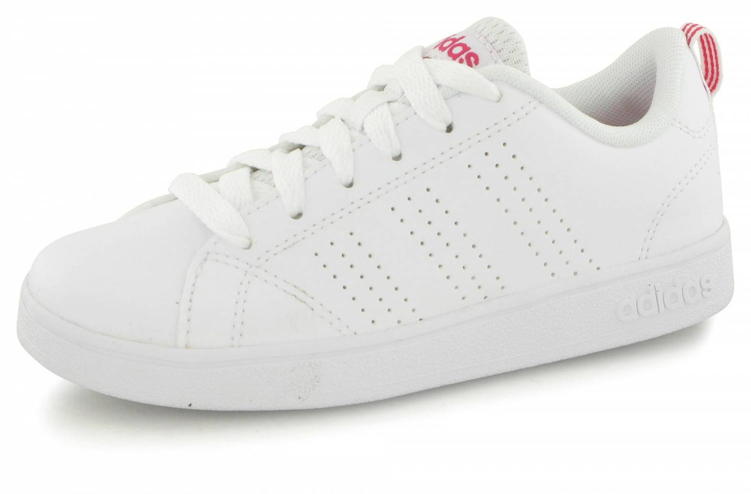 Adidas Neo Advantage Clean Junior Blanc Rose