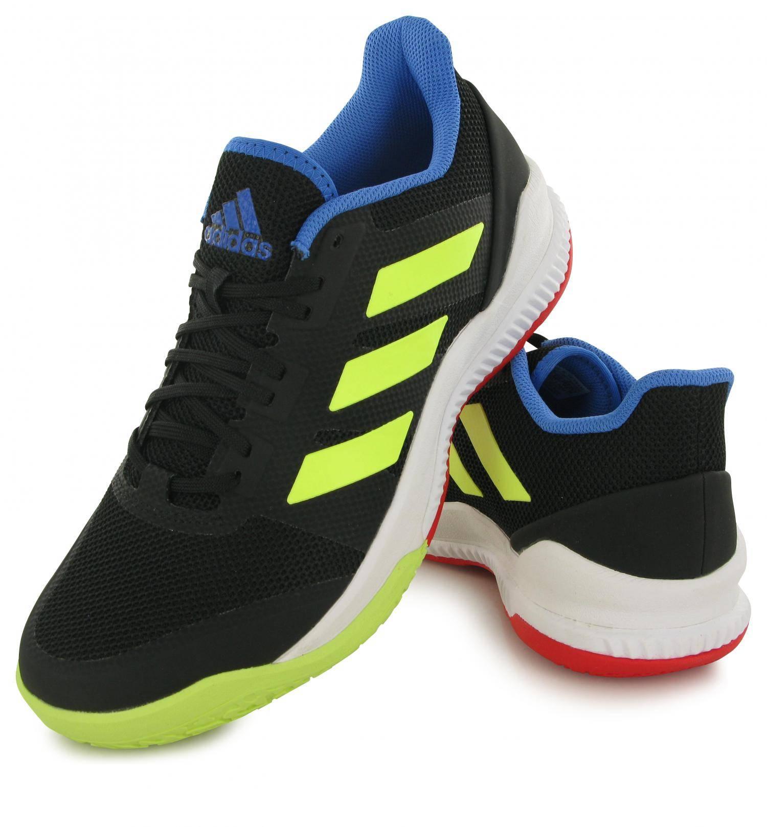 Adidas Stabil Bounce Noir Jaune