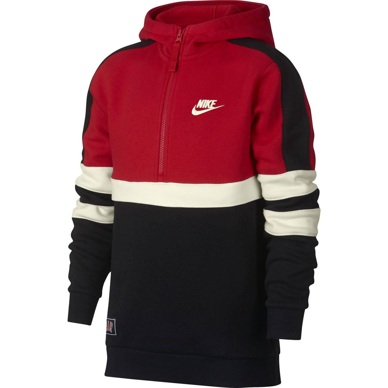 Nouvelle liste acheter maintenant magasiner pour le meilleur Sweat Nike Nsw Hd Rouge / Noir Junior