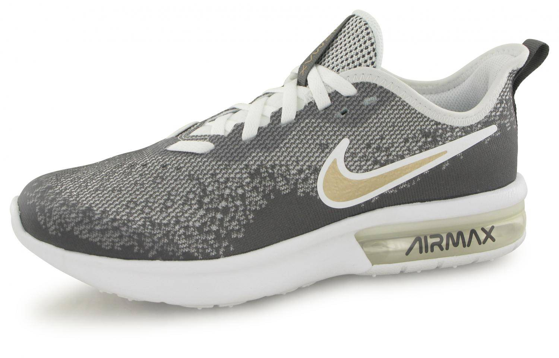 design de qualité 4ec13 762f5 Nike Air Max Sequent Blanc / Gris Junior