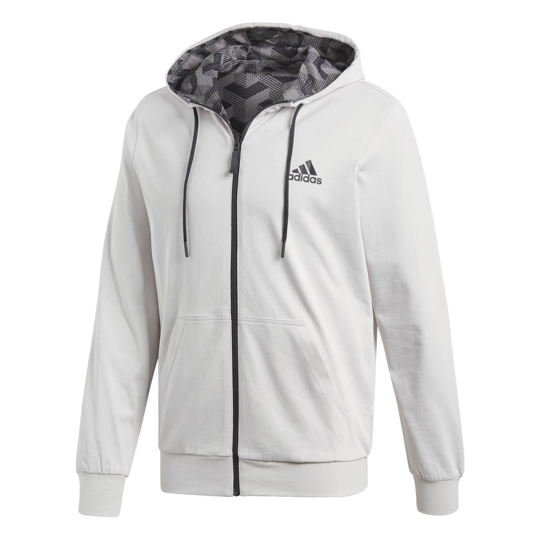 Veste à capuche Adidas Sport Id Rev Gris