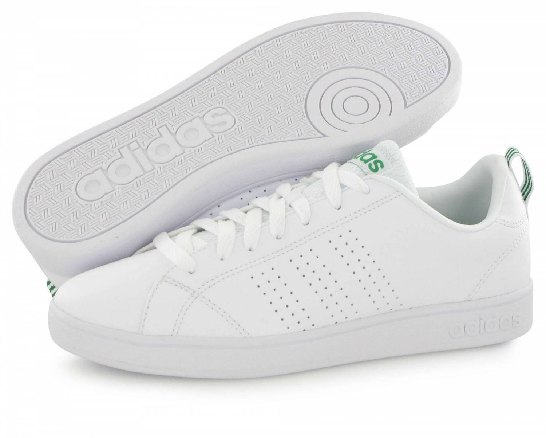 Adidas Neo Advantage Clean Blanc Et Vert