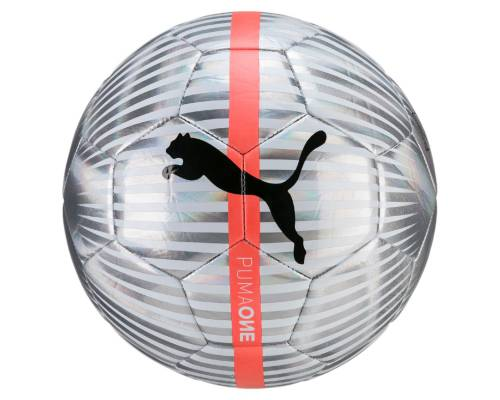 Ballon Puma One Chrome Argent
