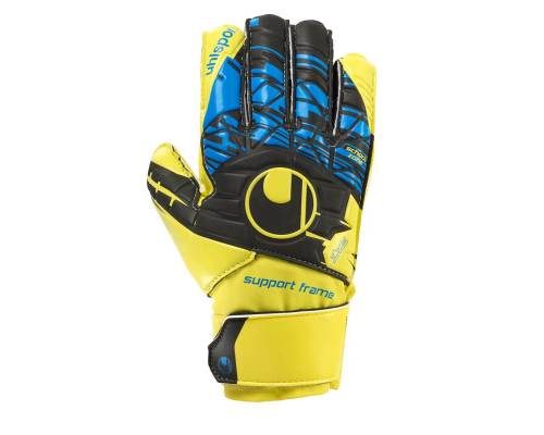 Gants de gardien Uhlsport Eliminator Soft Sf Jaune / Bleu