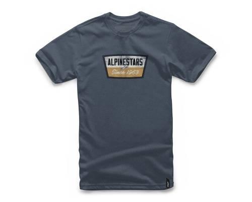 T-shirt Alpinestars Battery Bleu