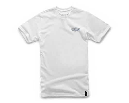 T-shirt Alpinestars Ride On Blanc