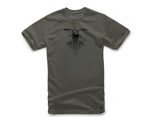 T-shirt Alpinestars Boxed Military