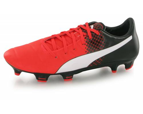 Puma Evopower 3.3 Tricks Fg (red/wht/blk) Rouge, Blanc Et Noir