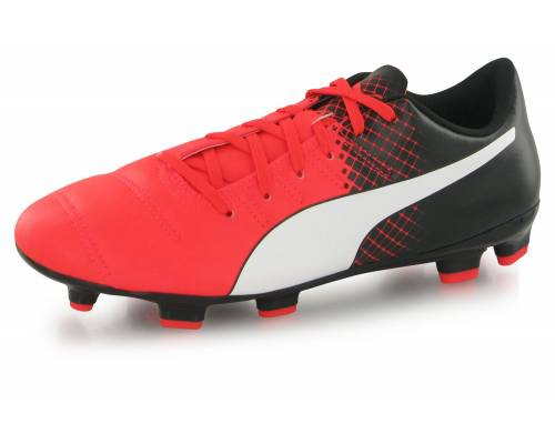 Puma Evopower 4.3 Tricks Fg Rouge, Blanc Et Noir