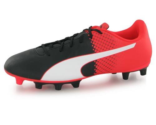 Puma Evospeed 5.5 Tricks Fg Noir, Blanc Et Rouge