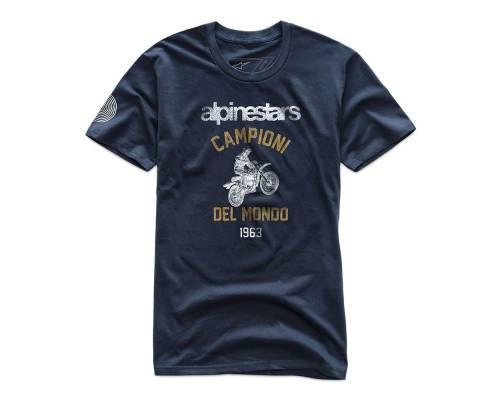 T-shirt Alpinestars Jump Premium Bleu