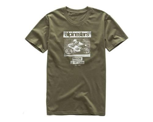 T-shirt Alpinestars Tuck Premium Military