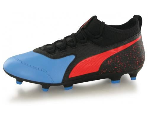 Puma One 19.3 Fg Noir / Bleu / Rouge