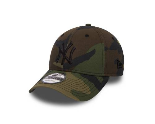 Casquette New Era 9forty New York Yankees Vert Camouflage