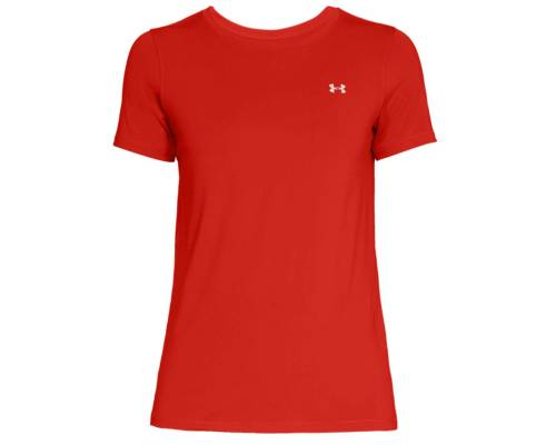 T-shirt Under Armour Heatgear Armour Rouge