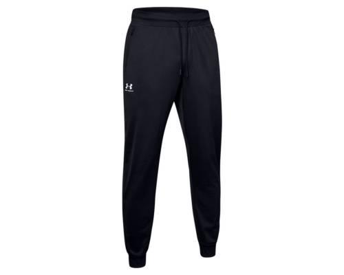 Pantalon Under Armour Sportstyle Tricot Noir