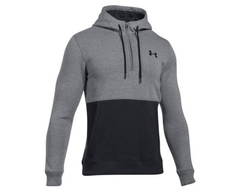 Sweat Under Armour Threadborne 1/2 Zip Hoodie Gris