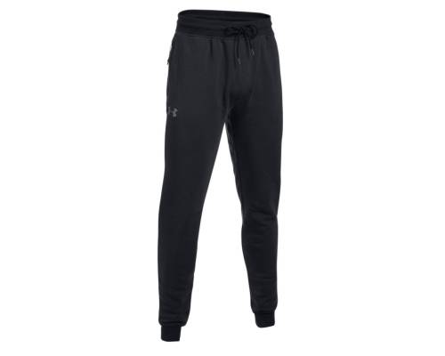 Pantalon Under Armour Threadborne Stacked Noir