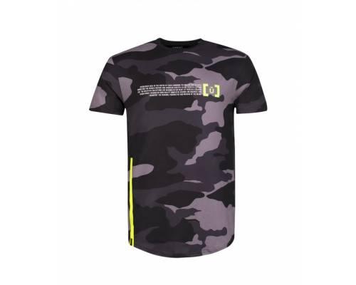 T-shirt Unkut Gust Gris Camo