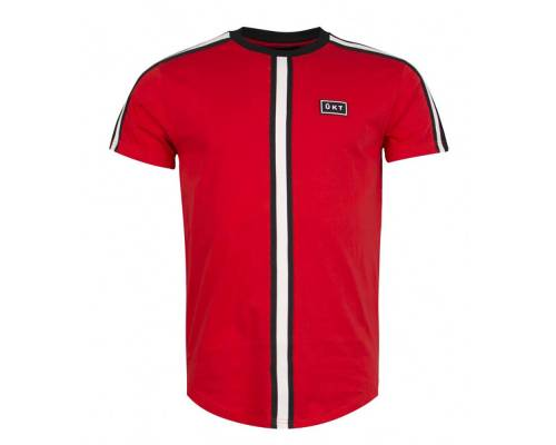 T-shirt Unkut Bridge Rouge / Noir