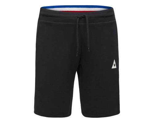 Short Le Coq Sportif Tricolore Slim Noir
