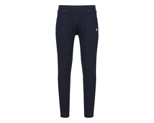 Pantalon Le Coq Sportif Tricolore Slim Denim Bleu