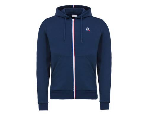 Veste Le Coq Sportif Essential Fz Hoody Bleu
