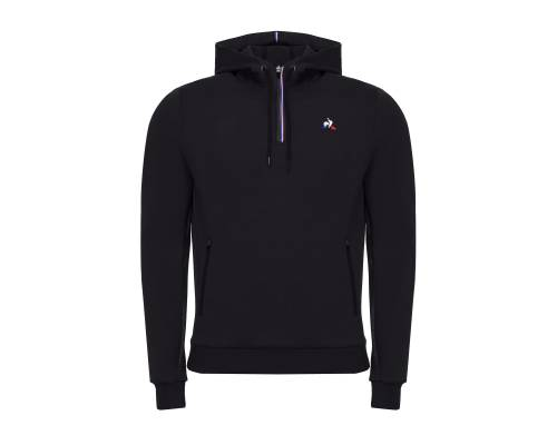 Sweat Le Coq Sportif Tech Hoody 1/2 Zip Noir