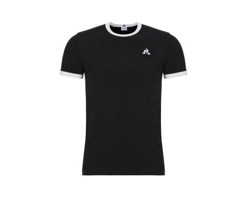 T-shirt Le Coq Sportif Essentiels Noir / Blanc