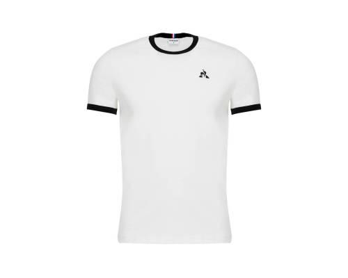 T-shirt Le Coq Sportif Essentiels Blanc / Noir
