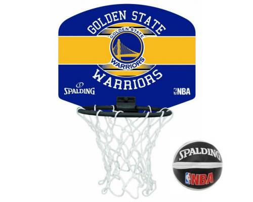 Mini-panier Spalding Nba Golden State Warriors