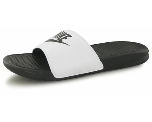Claquettes Nike Benassi Jdi Blanc / Noir