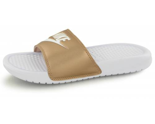 Claquettes Nike Benassi Jdi Blanc