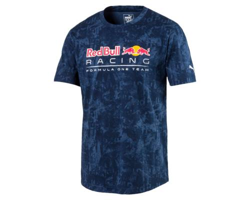 T-shirt Puma Red Bull Racing Allover Eclipse