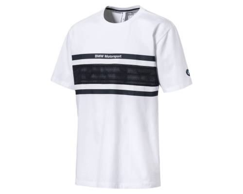 T-shirt Puma Bmw Motorsport Oversize Blanc