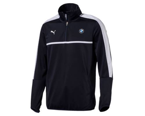 Sweat Puma Bmw 1/2 Zip Train Team Blue