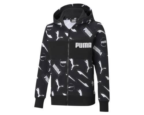 Veste Puma Alpha Aop Noir Enfant