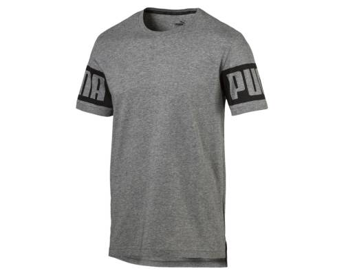 T-shirt Puma Rebel Gris
