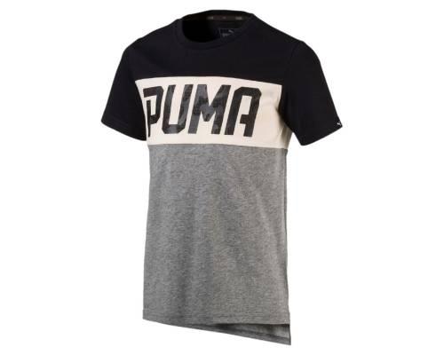 T-shirt Puma Style Graph Gris / Noir