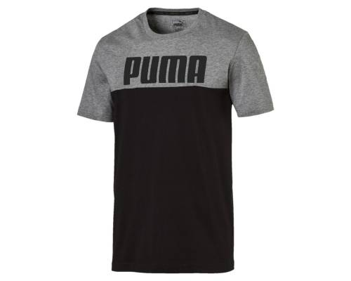 T-shirt Puma Rebel Block Noir / Gris